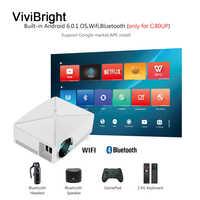 C80 HD MINI Projector 1280x720P Video Beamer 3D Projector Ondersteuning 1080P HD-IN USB (Optioneel C80 UP Voor Android versie WiFi)