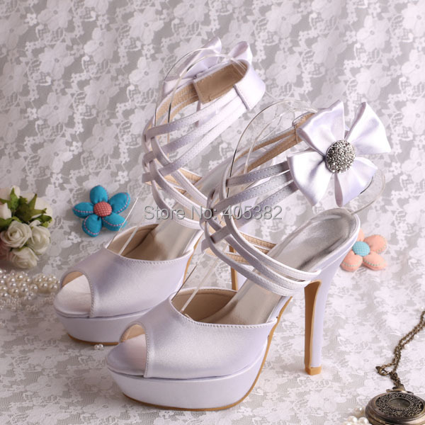 Wedopus Very High Heel Hot Pink Sandals Wedding Women Bridesmaid Sandals  -in Women s Sandals from Shoes on Aliexpress.com  aa8e359827c4
