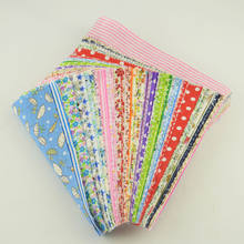 Stash Patchwork Fabric Bundle 100% Cotton Twill Fabric Sewing for Quilting Baby Bibs Tilda Doll 10cmx12cm Random Color Materials(China)