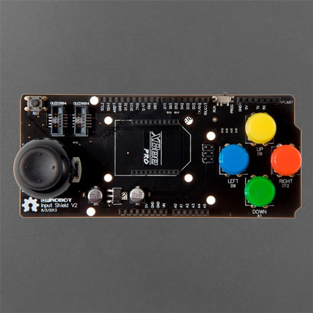 US $16 05 |new DFRoBot 100% Genuine DIY Input Shield V2 0 Board for Arduino  with / Integrated joystick button and Xbee interface-in Industrial