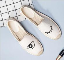 2018 Summer Classic Lovers Canvas Shoes Fashion Women Casual Shoes Breathable Zapatos Hombre Flats Slip-on Creepers Espadrilles new 2017 spring summer breathable women s flats shoes thick heel loafers women slip on canvas espadrilles creepers