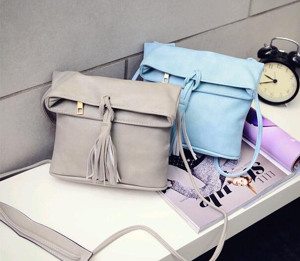 Solid Sweet Cute Flap Fashion Women Tassel Shoulder Bag Crossbody Bag Messenger Handbag new(Pink/White/Black/Light Blue/Gray) рюкзак hama sweet owl pink blue