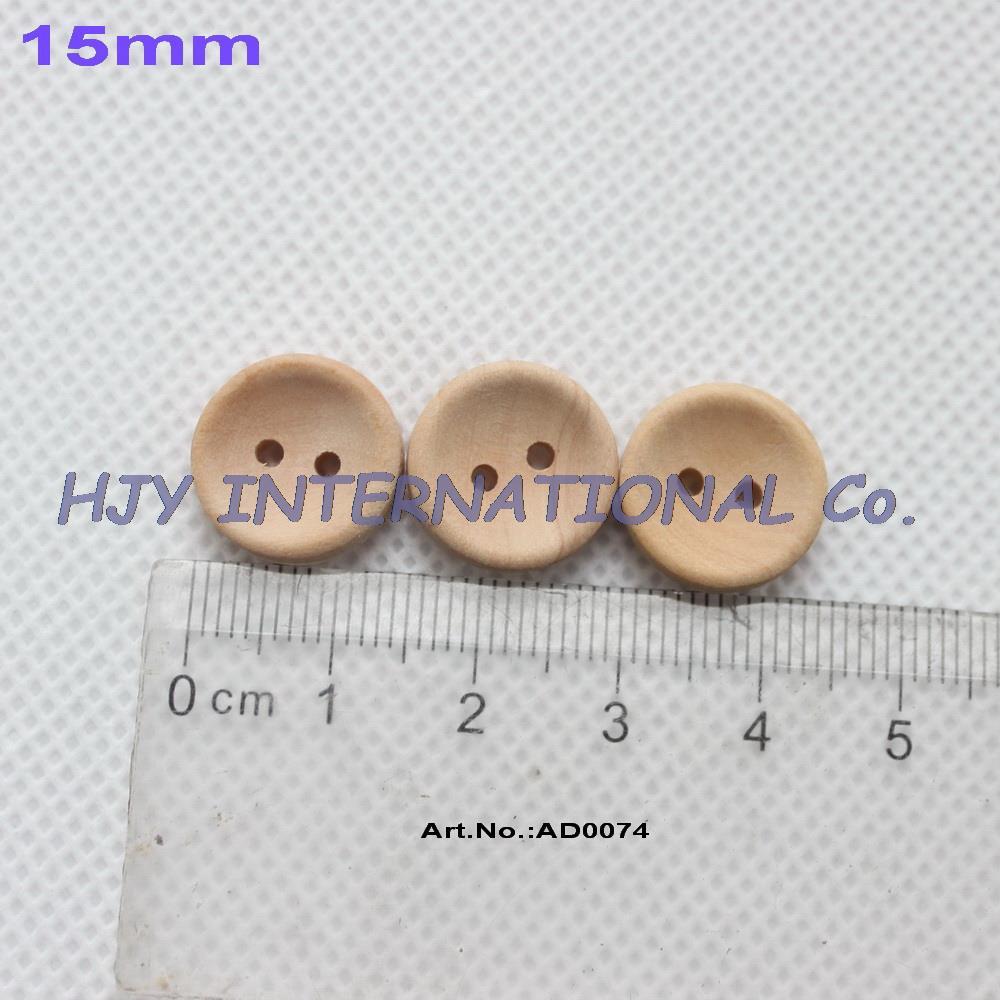 (200 шт) 15 мм необработанные персонализированные кнопки простые деревянные кнопки с вашим собственным сообщением или именем магазина-AD0074