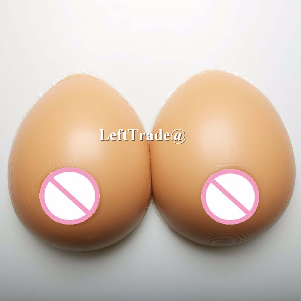 600g B cup tan skin tone drag queen fake silicone breast forms for mastectomy shemale use retail wholesale drop shipping 1 pair gg cup nude skin tone 2800g silicone breast form with straps