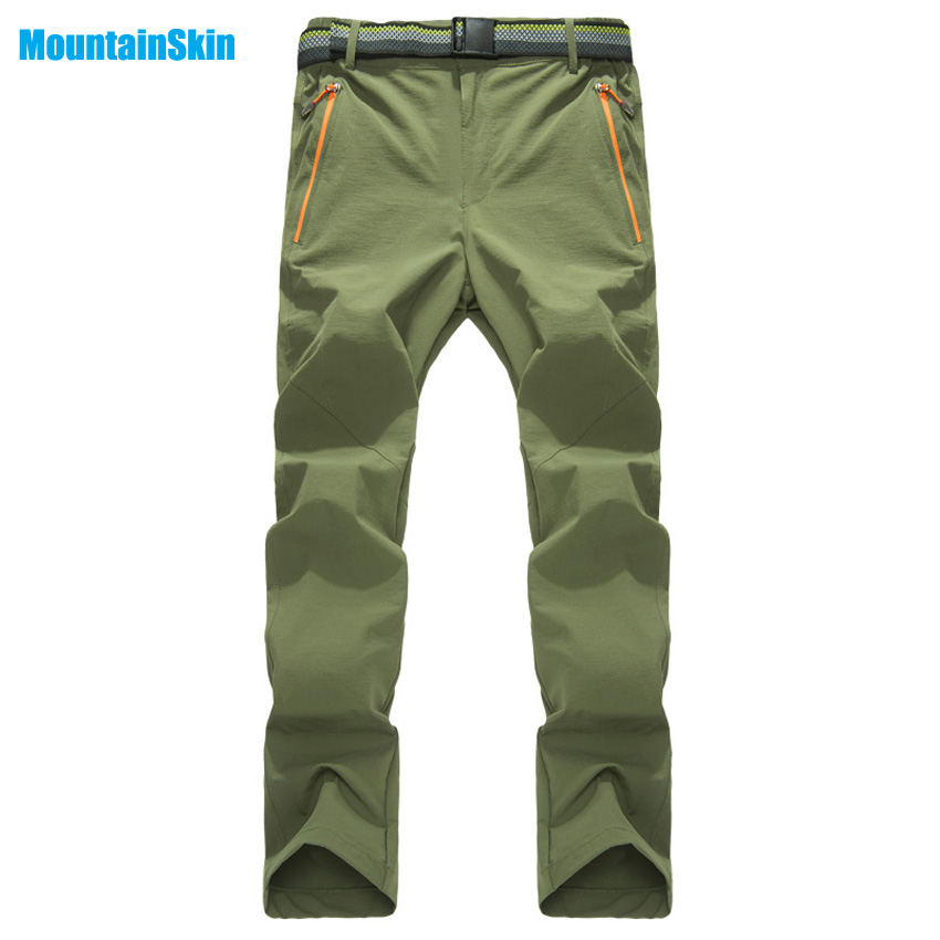 Mountainskin Mens Womens Summer Quick Dry Softshell Pants Outdoor Sports Hiking Climbing Fishing Trekking Thin Trousers MA117Mountainskin Mens Womens Summer Quick Dry Softshell Pants Outdoor Sports Hiking Climbing Fishing Trekking Thin Trousers MA117