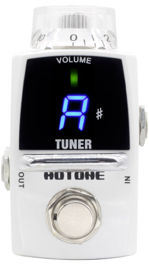 ФОТО Hotone Skyline Series TUNER Guitar Tuner Pedal with Free Pedal Case and More