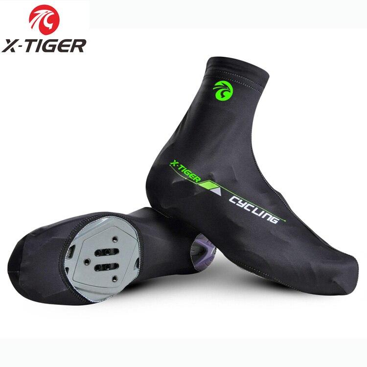 X-TIGER professionnel vtt cyclisme chaussure couverture séchage rapide 100% Lycra hommes sport Sneaker course vélo cyclisme couvre-chaussures