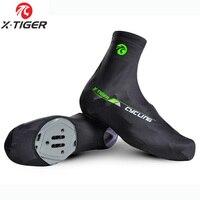 X TIGER profissional mtb ciclismo sapato capa de secagem rápida 100% lycra esportes dos homens tênis corrida bicicleta ciclismo overshoes sapato cobre|shoes quality -