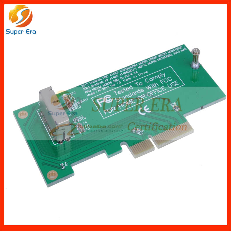 PCIE PCI-Express PCI-E PCI Express to for Apple Macbook Pro Air SSD Convert Card for A1370 A1398 A1502 A1465 A1466 2013-2015year ssd for macbook pro
