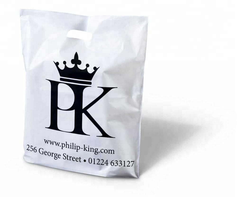 500 sztuk/partia niestandardowe logo wysokiej jakości plastikowe torby na zakupy, z tworzywa sztucznego etui na biżuterię do pakowania prezent torby na zakupy, 14 kolorów do wyboru w Torby na zakupy od Bagaże i torby na  Grupa 1