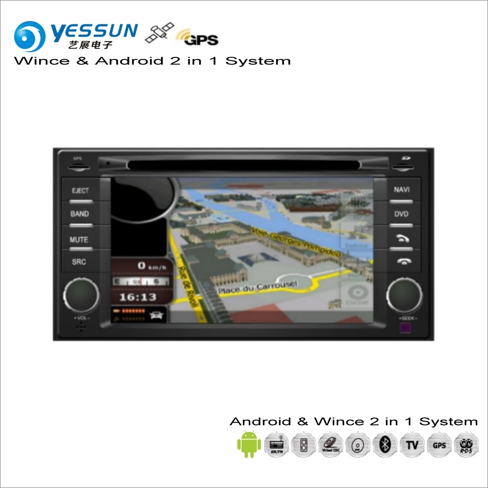 YESSUN For Subaru Forester / Impreza XV 2003~2016 Car Android Radio CD DVD Player GPS Navi Navigation Audio Video Stereo System