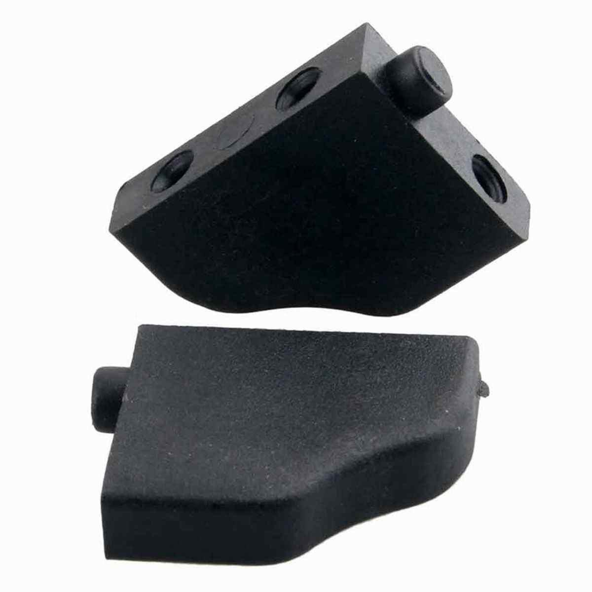 2 piezas para HSP 03013 Servo soporte de fijación servidor montaje de bandeja de Radio para 1/10 94111 94123 Flying Fish Rock piezas de coche de orugas RC