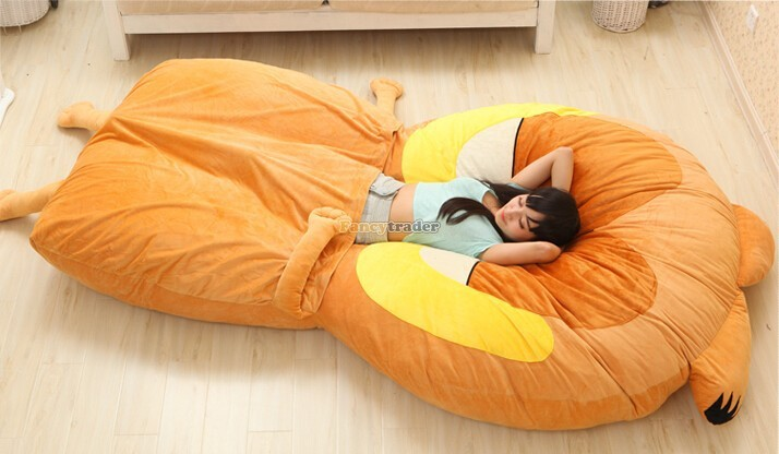 Fancytrader 220cm X 150cm Huge Giant Cute Garfield Bed Carpet Sofa Tatami, Great Gift! Free Shipping FT90351 (3)