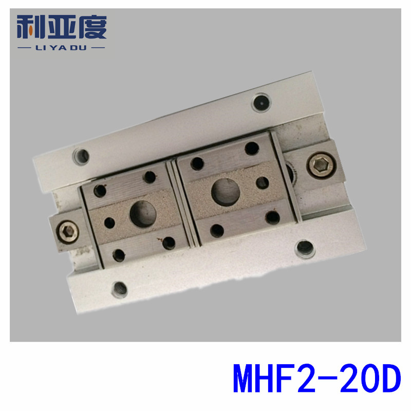 MHF2-20D Thin gas claw Bore size 20mm SMC type with Short stroke free shipping original for hp5500 5550 hp clj 5550 fuser drive assembly rg5 7700 000cn rg5 7700 rh7 1617 motor on sale