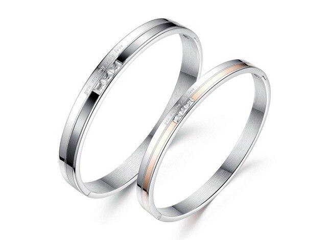 Браслет из титановой стали простой циркониевый браслет подарок