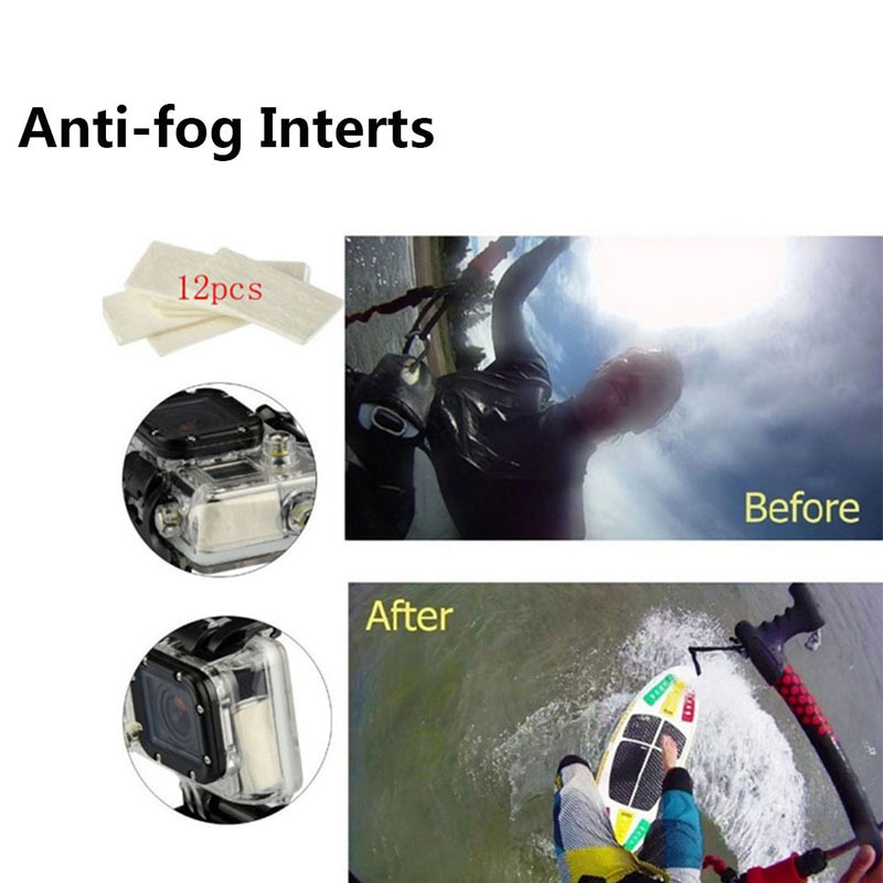 Anti-fog Insters for sport camera