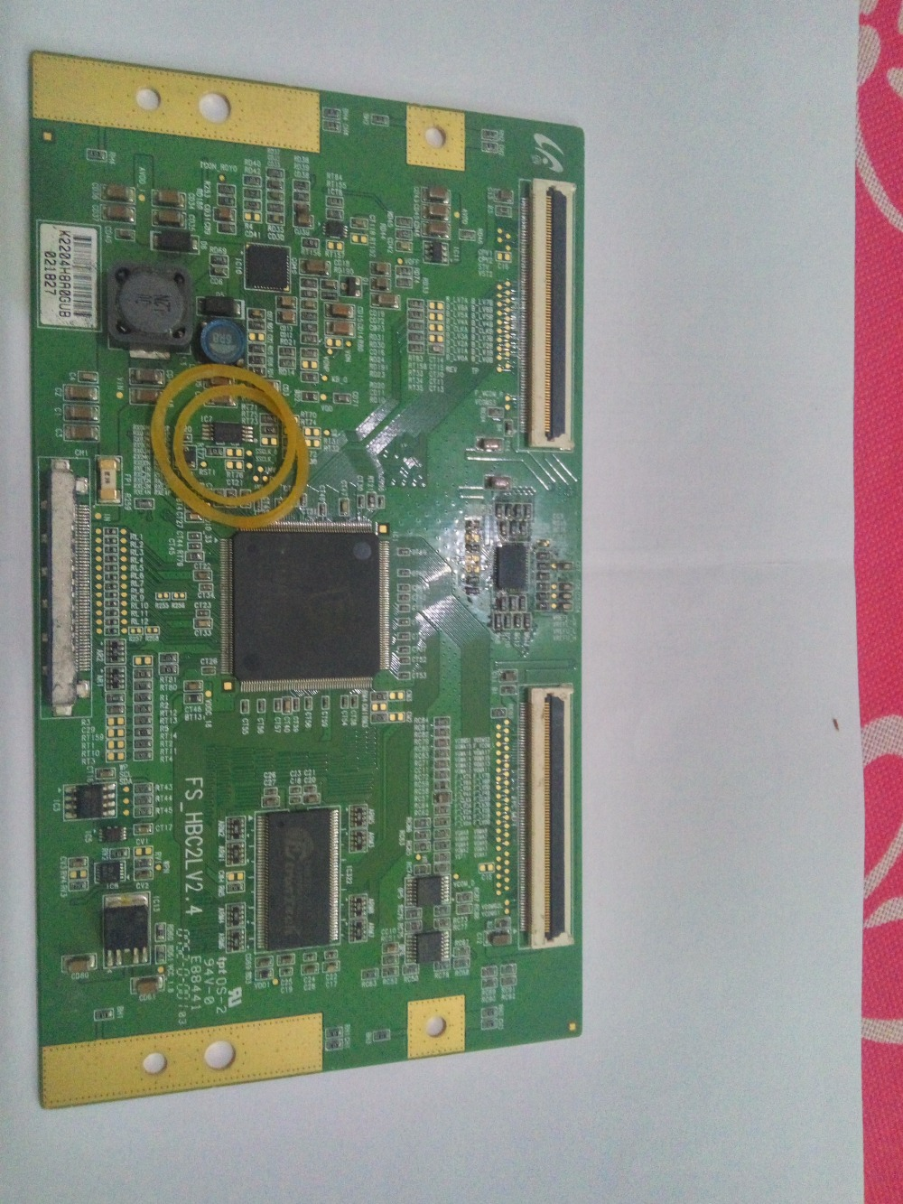 LOGIC BOARD FS_HBC2LV2.4 Have Two Types LCD Board FS-HBC2LV2.4 For Connect With KLV-52V440A LTY520HB07 T-CON Connect Board