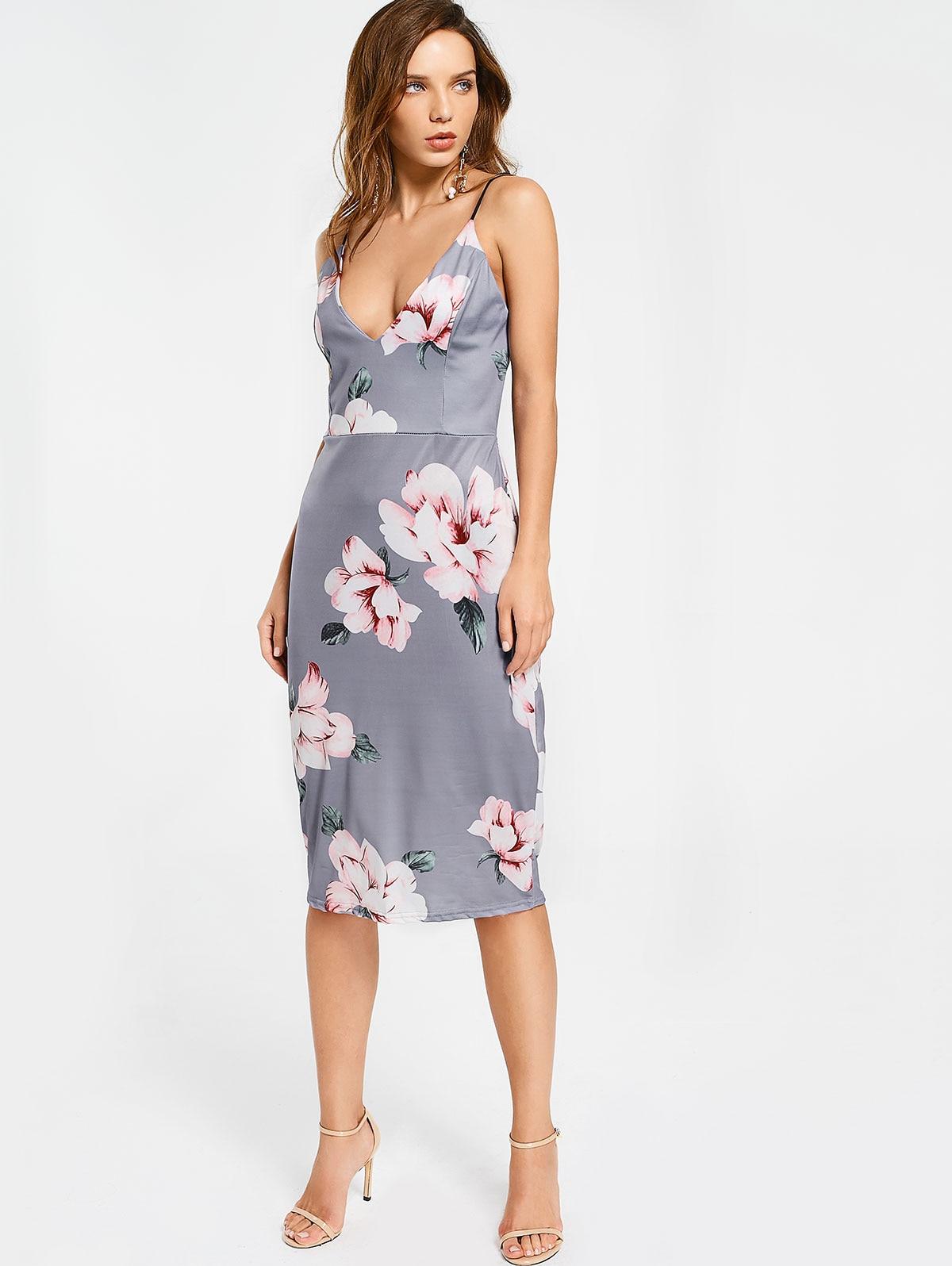 9fb50d00b4cb Grey Bodycon Formal Dress