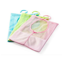 Hanging Mesh Storage Bag Clothes Toy Organizer Laundry Hook Underwear Kitchen Bathroom Indoor Outdoor Dry Practical Pouch