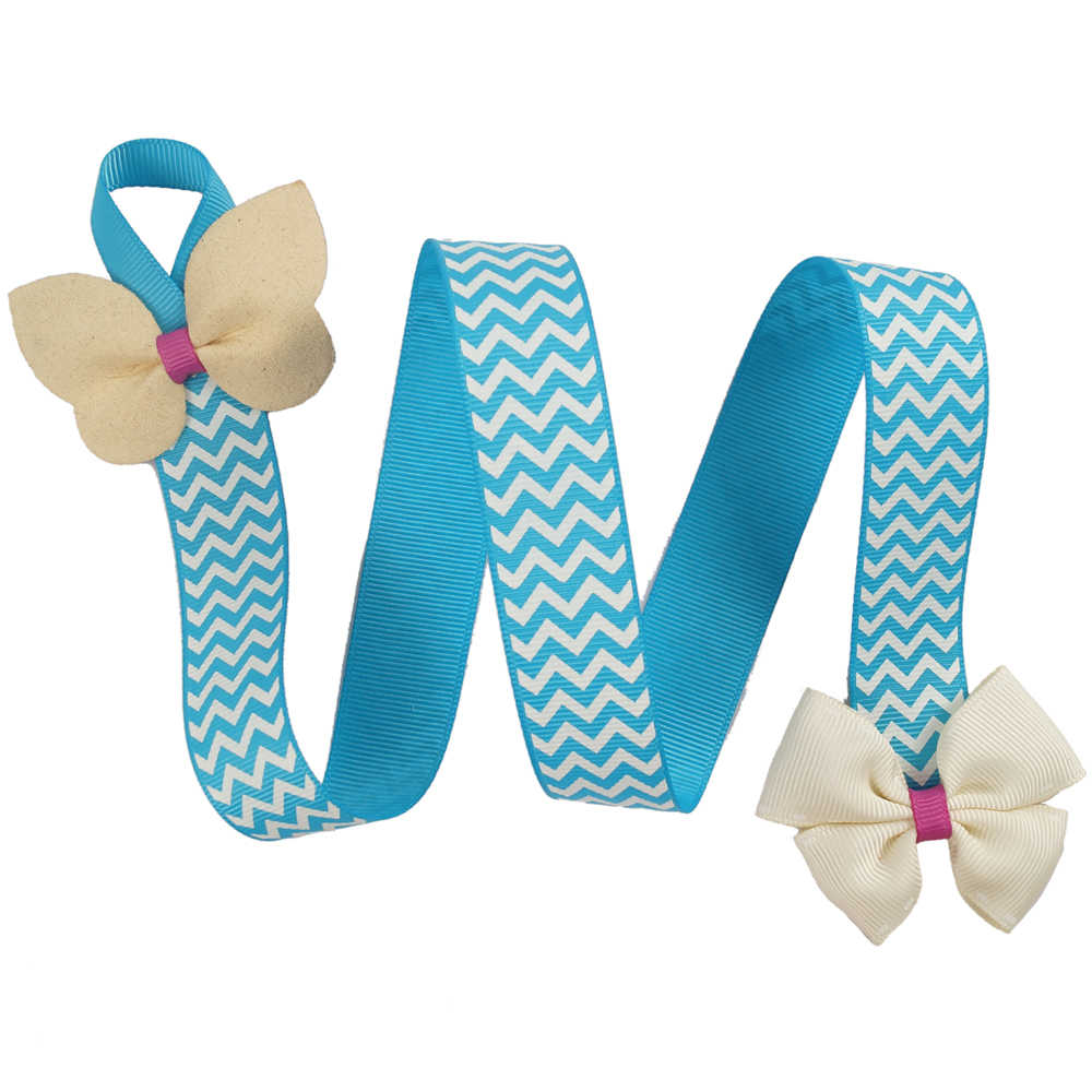3Pcs/lot Cute Kids Hair Clip Storage Tape Assorted CROWN Ribbon Hair Bows Hairpins Holder Children Hair Accessories Holding Band