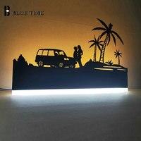 Metal preto quadro moderno led lâmpadas de parede para cabeceira sala de jantar sala estar criativo acrílico casa conduziu luzes de parede ac 220 v 110 v
