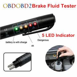 Авто жидкость тестирование Тормозная жидкость тестер проверьте автомобиль Crake масло светодио дный индикатор Дисплей для ухода за