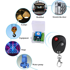 Image 2 - KEBIDU 433 Mhz Remote Controls RF Transmitter with Universal Wireless Remote Control Switch DC 12V 1CH relay Receiver Module