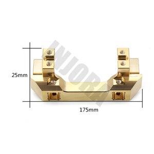 Image 2 - INJORA Brass Front Servo Stand for 1/10 RC Crawler Car Traxxas TRX4 TRX 4 TRX 6 Upgrade Parts