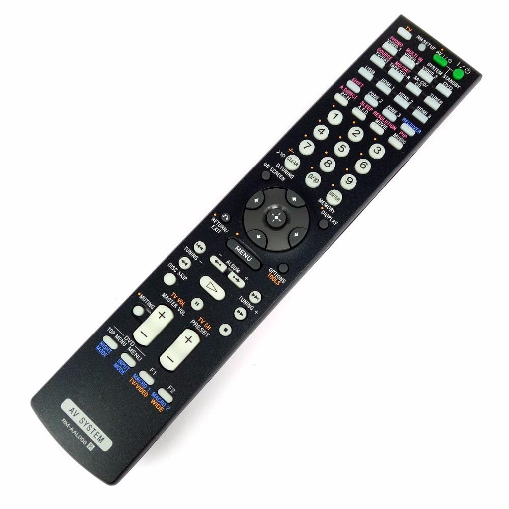 NEW Original for SONY RM-AAL006 RMAAL006 Audio/Video Receiver Remote Control for STRDA3200 STRDA3200ES STRDG1000 new original rm pp760 for sony av system theater video remote control rm aap002 rm pp411 at 4800dp 4850dp 5800dp ddw760 str k48