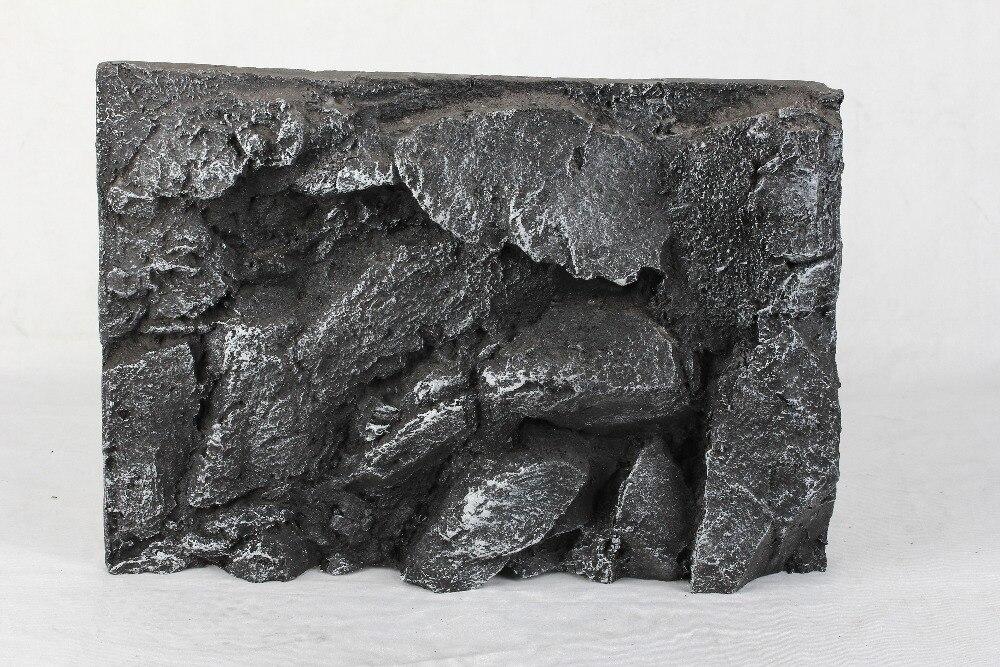 Zufällig Rock Form 30x45 Cm Hintergrund Reptil Box Landschaftsbau 3d Stein Modell Terrarium Dekor Aquarium Regenwald Nicht Poster /papier