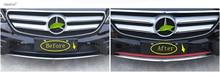 Lapetus Accessories Fit For Mercedes Benz E Class W213 2016 2017 2018 2019 Front Bottom Bumper Protection Molding Cover Kit Trim