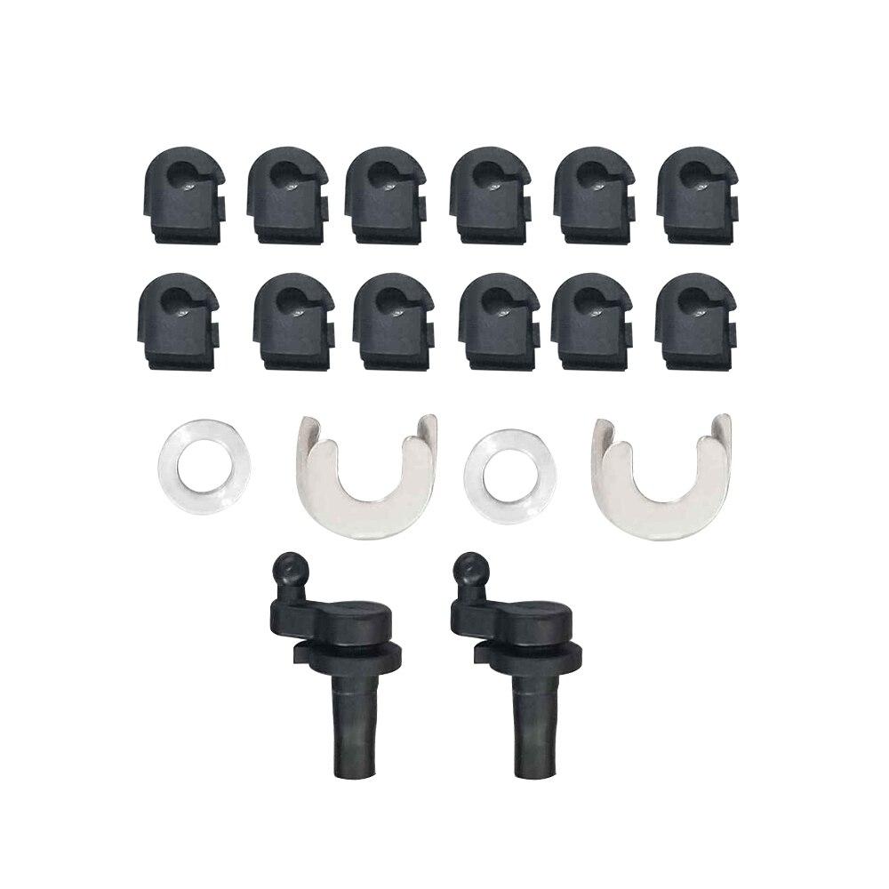 Inlet Intake Manifold Swirl Flaps Set for Audi VW 2.7 3.0 TDI A4 A5 A6 A8 Q7 touareg inlet manifold intake manifold for vw audi seat 1 8 tsi tfi cdaa
