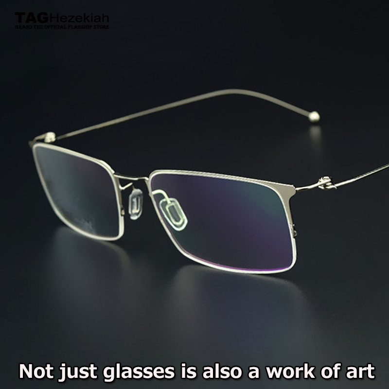 TAG brand latest Eyeglass frame men ultra-thin ultra-light titanium creative designer glasses frame Computer myopia Goggles image