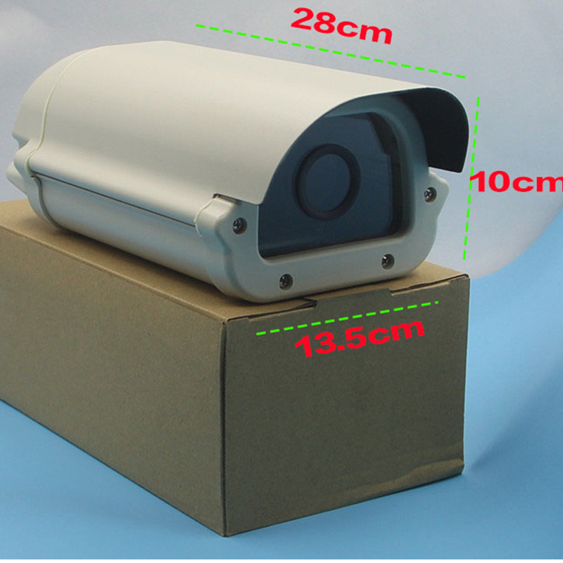 Ybr Video Outdoor Aluminum CCTV Housing Waterproof Weatherproof Dustyproof Bullet Security Surveillance Camera Housing