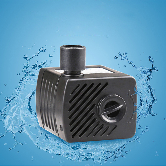 sunsun 220V/2W Aquarium fish tank aquarium mini pump cylinder pumps ultra-quiet submersible pump