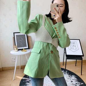 Image 3 - בעבודת יד פניני אפוד לנשים חולצות 2020 חדש לנשים ואגלי וסטים שרוולים Camis הולו מתוך חולצות מעילי בגדי LT800S50