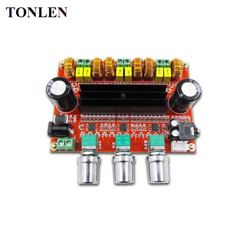 Tonlen Tpa3116d2 Digital Power Amplifier Board 2 1 Channel Amp 12v 24v Hifi Stereo Power Amplifier Module