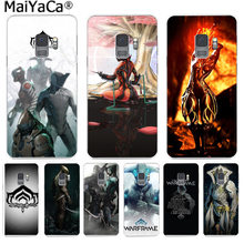 MaiYaCa Warframe Game Funny Phone Cover Coque for Samsung S9 S9 plus S5 S6 S6edge S6plus S7 S7edge S8 S8plus(China)