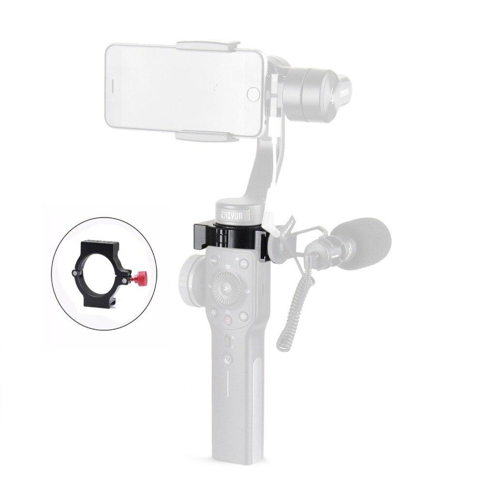 Eachshot adaptador caliente del zapato para Zhiyun Smooth 4 para Rode micrófono Luz de vídeo LED
