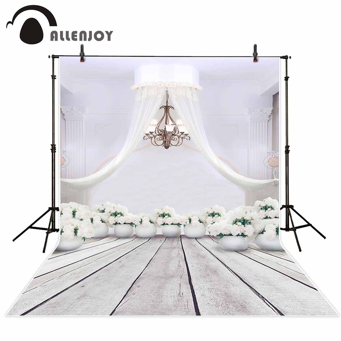 Allenjoy photography background wedding flower party sweet cute backdrop portrait shooting photo studio printed newborn allenjoy background for photo studio full moon spider black cat pumpkin halloween backdrop newborn original design fantasy props