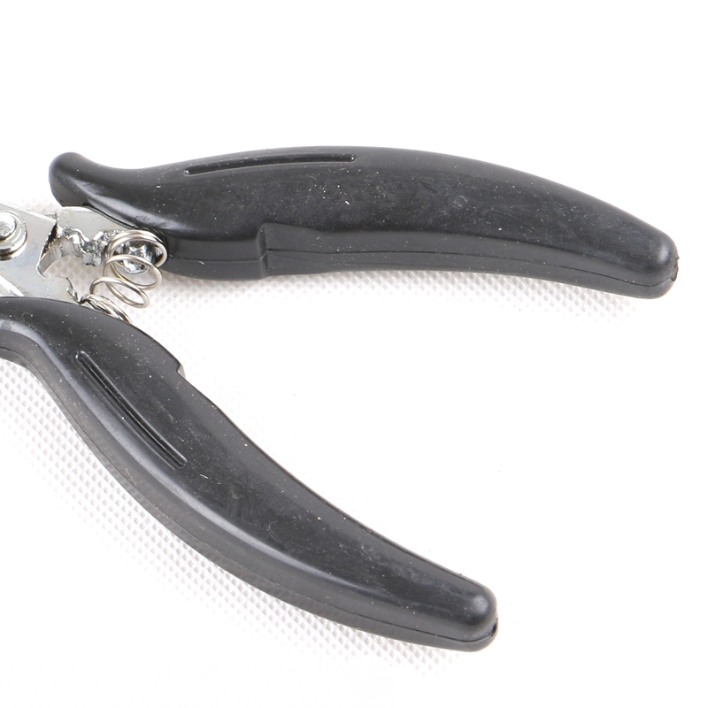 Free Shipping HARMONY 1 Pieces Black-handle U shape Hair Pliers Clamp for Making U tip Nail tip Hair Extensions (Style 10)