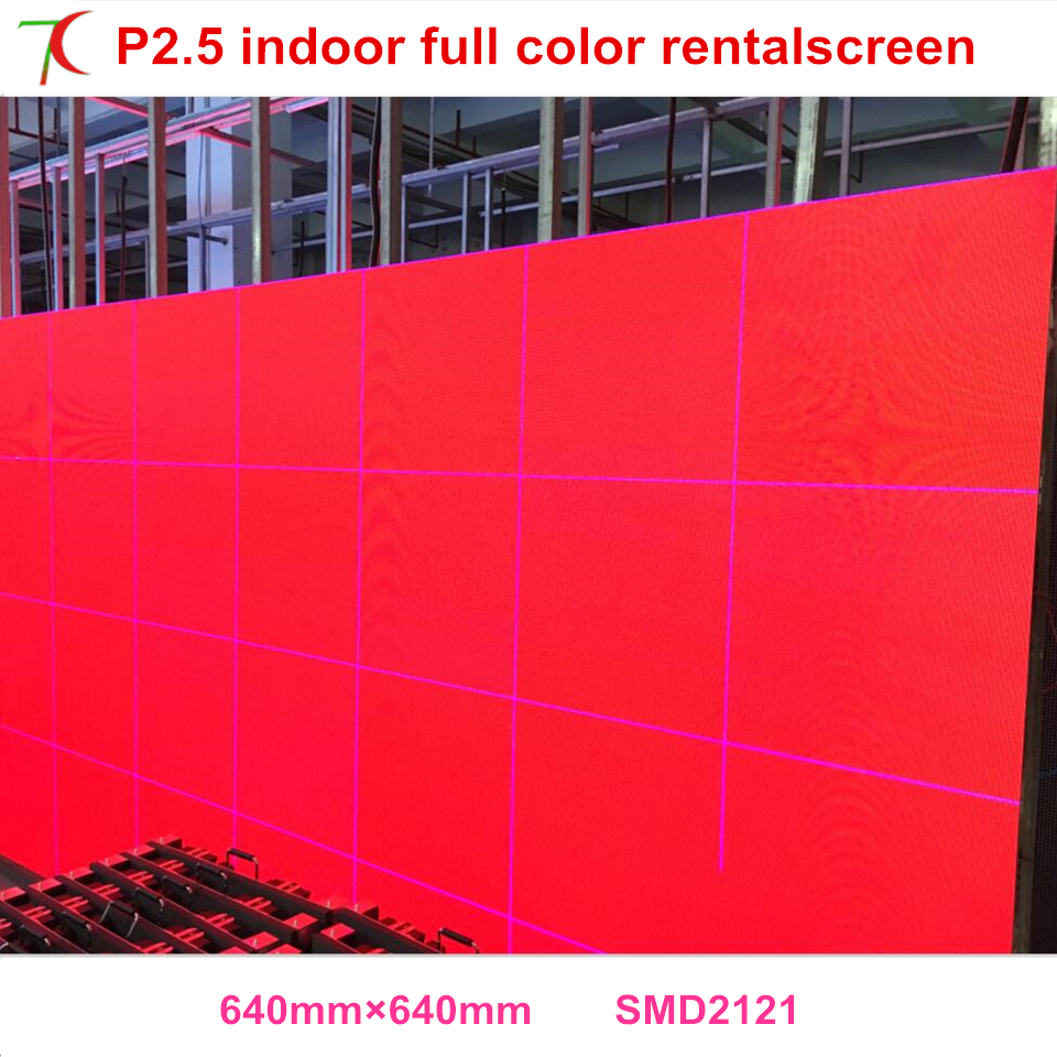P2.5 Indoor 32scan Rental Screen Widely Used In Stages, Conference, Wedding, Studios And Some Other Large Entertainment Places