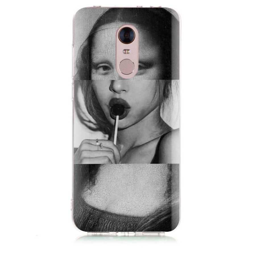 À motifs étui de téléphone pour xiaomi Rouge mi 4X Note 3 mi A1 Note 4 Pro 4A Note 5 6 6pro Pour Rouge mi 5A 6 6A Souple étui en polyuréthane thermoplastique Fundas D199