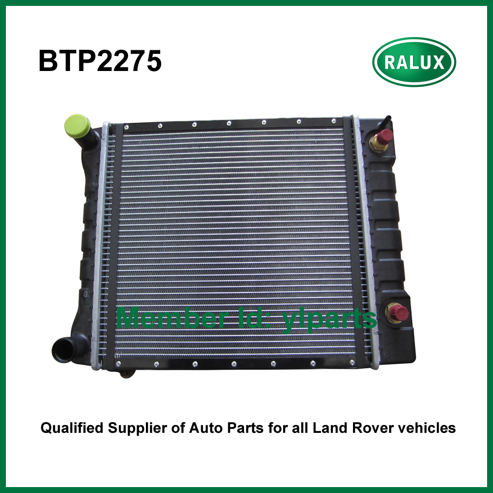 BTP2275 radiator for Defender 1987-2006 /Discovery 1 1989-1998 /Range Rover Classic MY1992-  auto engine cooling parts supplier