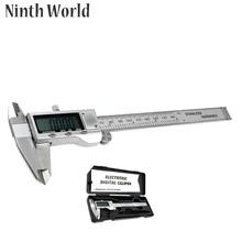 Promo offer Ninth World 150mm 6-inch Stainless Steel Electronic Digital Vernier Caliper Micrometer Measuring & Gauging Tools Vernier Caliper