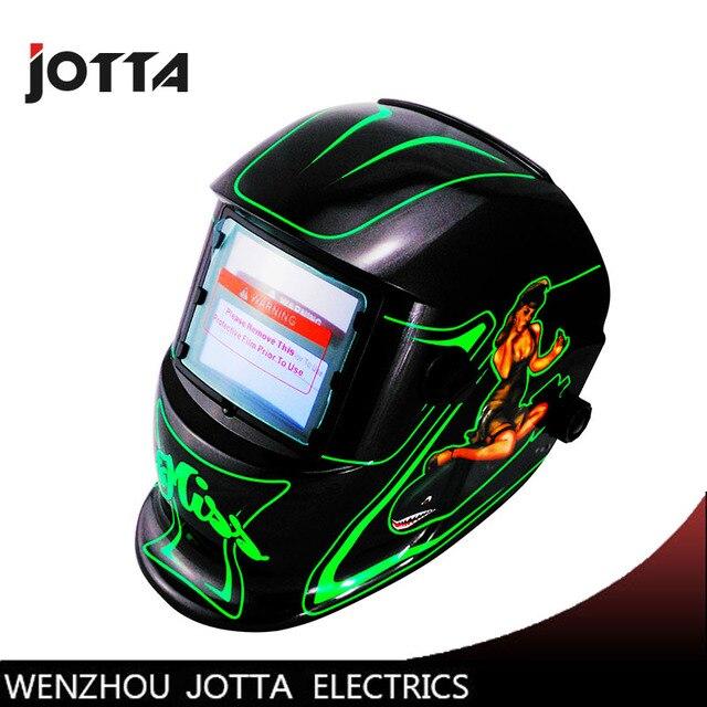 c7926e8c8ccca Sexy apprenance Solar auto escurecimento da soldadura máscara capacete cap  soldador solda