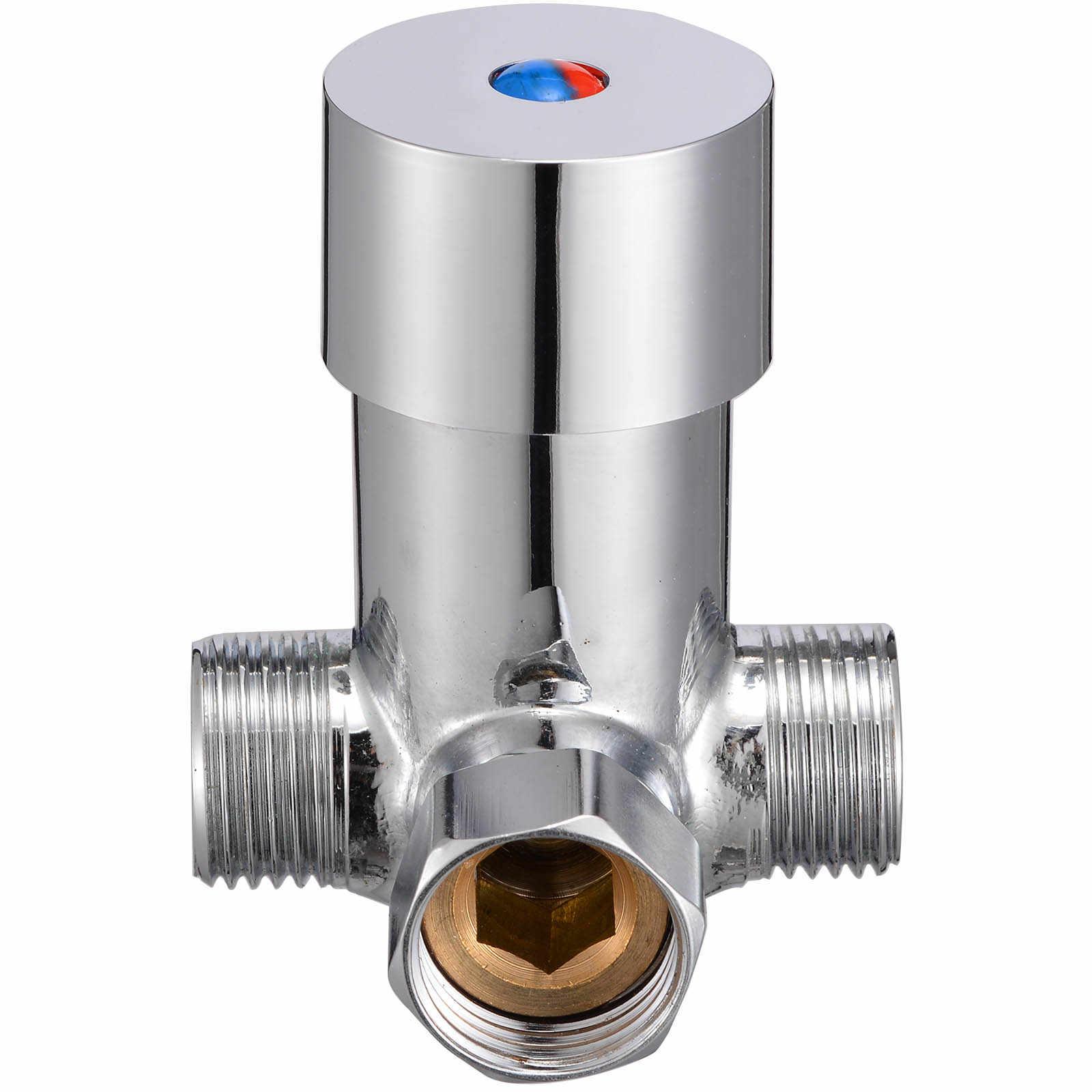 Gorący zimny zawór wody kran zawór mieszający czujnik temperatury dotknij do głowicy prysznicowej krany kranowe