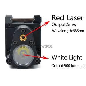 Image 3 - Taktyczne CNC wykończone SBAL PL broń światło latarka Combo czerwony Laser pistolet karabin stały i stroboskopowy światło CZ 75