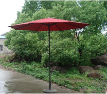 Hand straight handle umbrella banana outdoor leisure umbrellas patio base