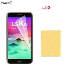 Clear Protective Film Screen Protector for LG K10 K8 K7 K4 K3 2017 K11 for LG K10 2017 K8 2018 LCD Screen Protector Film Foil стоимость